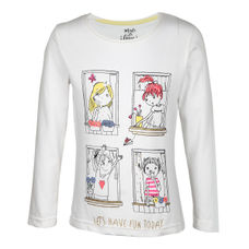 SYG EGRET GIRLS T SHIRTS OB BELLA TEE