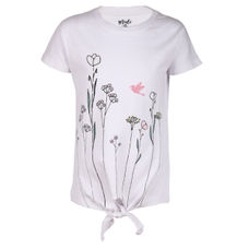 SYG BRIGHT WHITE GIRLS T SHIRTS OB BLOSSOM TEE
