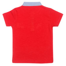 WMB FIERY RED BOYS T SHIRTS OB ORGANZA TEE