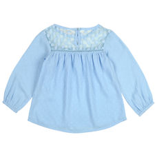 WMG BLUE GIRLS TOPS PP PUFF TOP