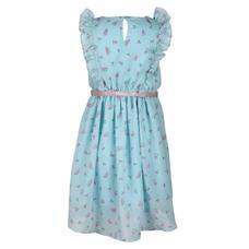 SYG ARUBA BLUE GIRLS DRESS SC STAR DRS
