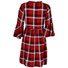 SYG FIERY RED GIRLS DRESS SR RACHEL DRS