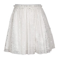SYG BRIGHT WHITE GIRLS SKIRTS SR RENNIE SKT