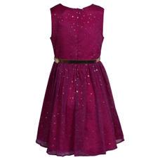 SYG HOT PINK GIRLS DRESS ST SAMARA DRS