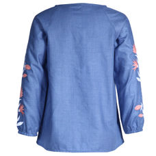 SYG BLUE GIRLS TOPS WT TIVA TOP