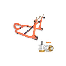 Paddock Dismantable Orange & 6 mm Bobbins  Dual Cap