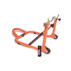 Free Motul Chain Lube C2 with GrandPitstop Rear Paddock - Black/Orange Color