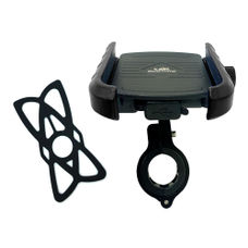 GrandPitstop Jaw-Grip Mobile Holder Mount with Charger - Black