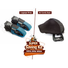 Air Seat & Luggage Strap Combo