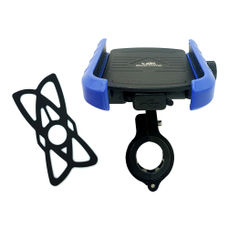 GrandPitstop Jaw-Grip Mobile Holder Mount with Charger - Blue