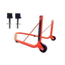 GrandPitstop Rear Paddock Stand for Bike with Swing Arm Rest (Orange) for KTM,YAMAHA,KAWASAKI,BMW,TVS,BAJAJ,HERO,MAHINDRA ETC