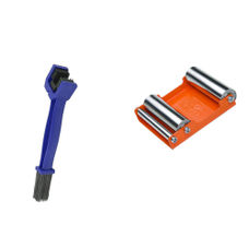 GRoller Medium with Chain Clean Brush