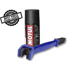 Chain Cleaning Brush & Motul Combo
