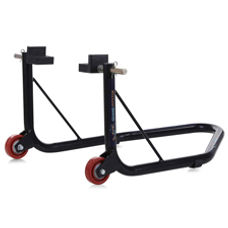 Rear Paddock Stand with Swing Arm Rest - Non Dismantable Black