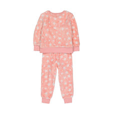 Pink Fluffy Star Pyjamas
