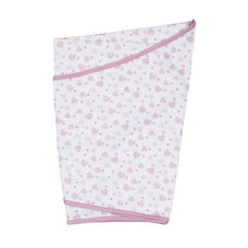 mothercare essential cotton swaddling blanket - pink