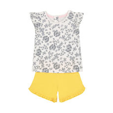 Butterfly T-Shirt And Shorts Set