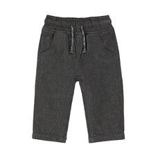 Grey Cord Joggers