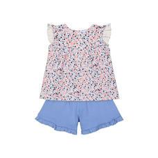 Multicoloured Shorts Set