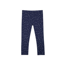 Navy Spot Leggings