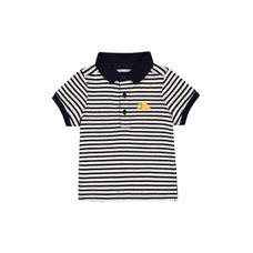 Striped Dino Polo Shirt
