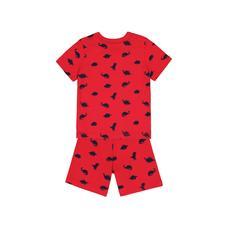 Red Dinosaur Shortie Pyjamas