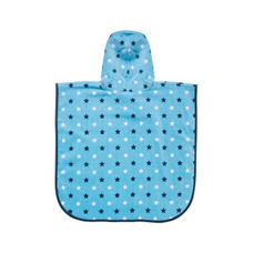 mothercare soft bath poncho - blue