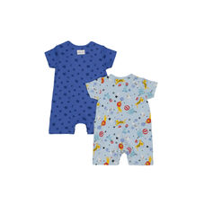 Circus Rompers - 2 Pack