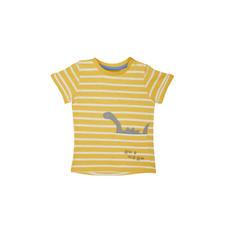 Yellow Stripe Dino T-Shirt