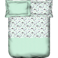 Mix It Up Fitted Sheet King Size