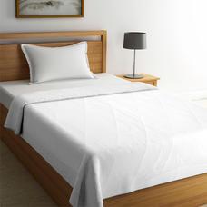 Forever White Basic Bedsheet Single Size