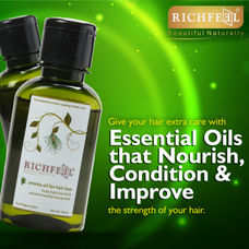Richfeel Oil For Hair Loss 100ml (Pack Of 2)