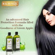 Richfeel Green Apple Shampoo, 100 ml