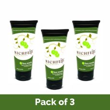 Richfeel cucumber face wash (Pack Of 3)