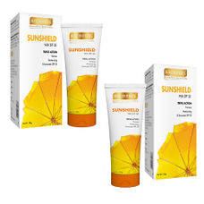 Richfeel Sunshield with SPF 30 100g (Pack of 2)
