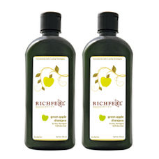 Richfeel Green Apple Shampoo 100ml (Pack Of 2)