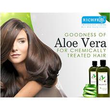 Richfeel Aloe Vera Shampoo 100g Pack Of 4