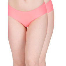 Secret Wish Peach Seamless Panty - Pack of 2
