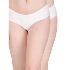 Secret Wish Seamless White Panty - Pack of 2
