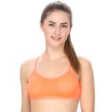 Padded Sports Bra in Orange