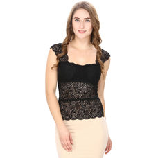 Black Lacy Camisole