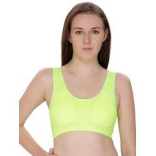 Secret Wish Fluorescent Green Sports Bra