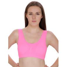 Secret Wish Pink Padded Sports Bra