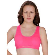 Secret Wish Padded Hot Pink Padded Sports Bra