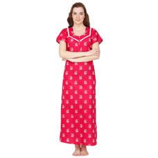 Secret Wish Cotton Pink Nighty, Nightdress