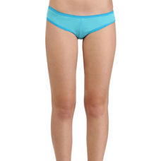 Secret Wish Lacy Bright Blue Hipster