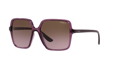 Violet Gradient Brown Sunglasses