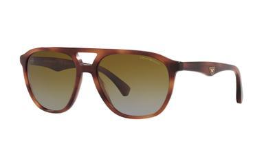 Polarized Gradient Brown Sunglasses