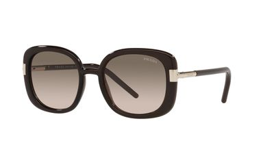 Brown Gradient Grey Sunglasses