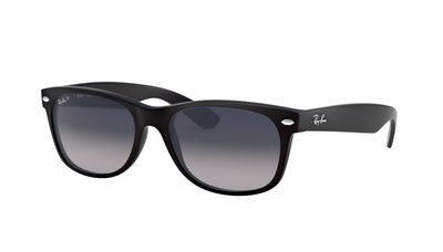 Polarized Blue Gradient Grey Sunglasses
